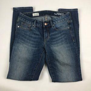 Gap SZ 26 Always Skinny Blue Jeans